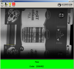 Scorpion Barcode App